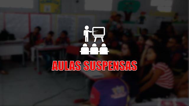 Aulas da Rede Municipal de Ensino de Panelas-PE suspensas