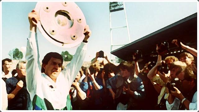 Otto Rehhagel Werder Bremen Bundesliga Title