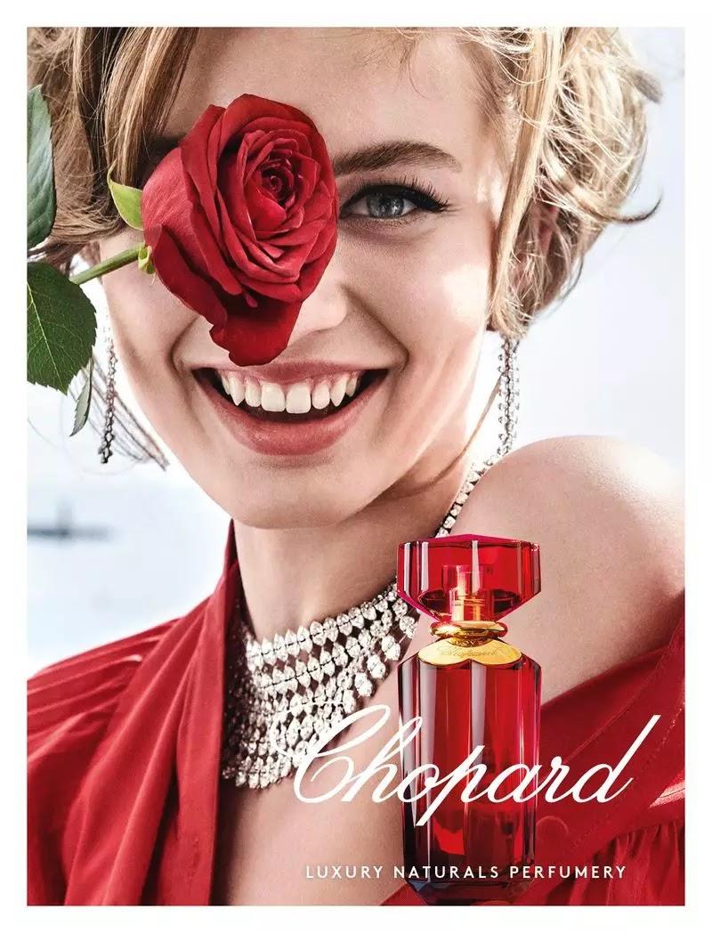 Chopard 'Love Chopard' Perfume Campaign featuring Giulia Maenza