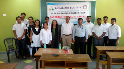 Legal Literacy on Domestic Violence at Sancoale Free Legal Aid Cell