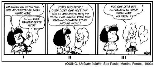 (QUINO. Mafalda inédita. São Paulo: Martins Fontes, 1993)