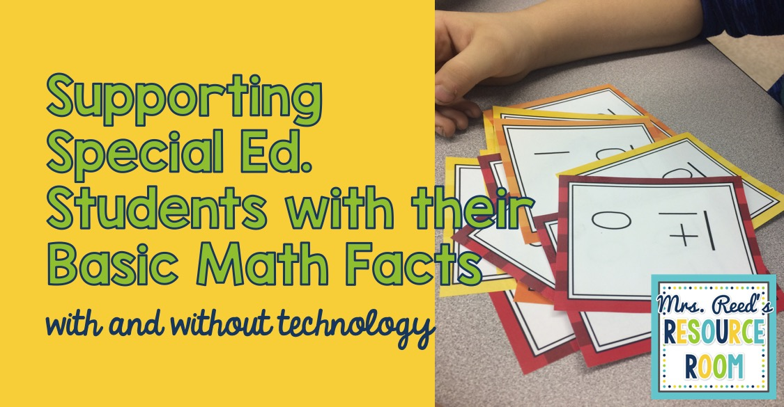 Supporting Students with Their Basic Math Facts - Mrs. Reed\'s ...