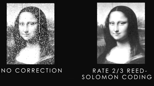Solomon coding used to correct the image: Intelligent Computing