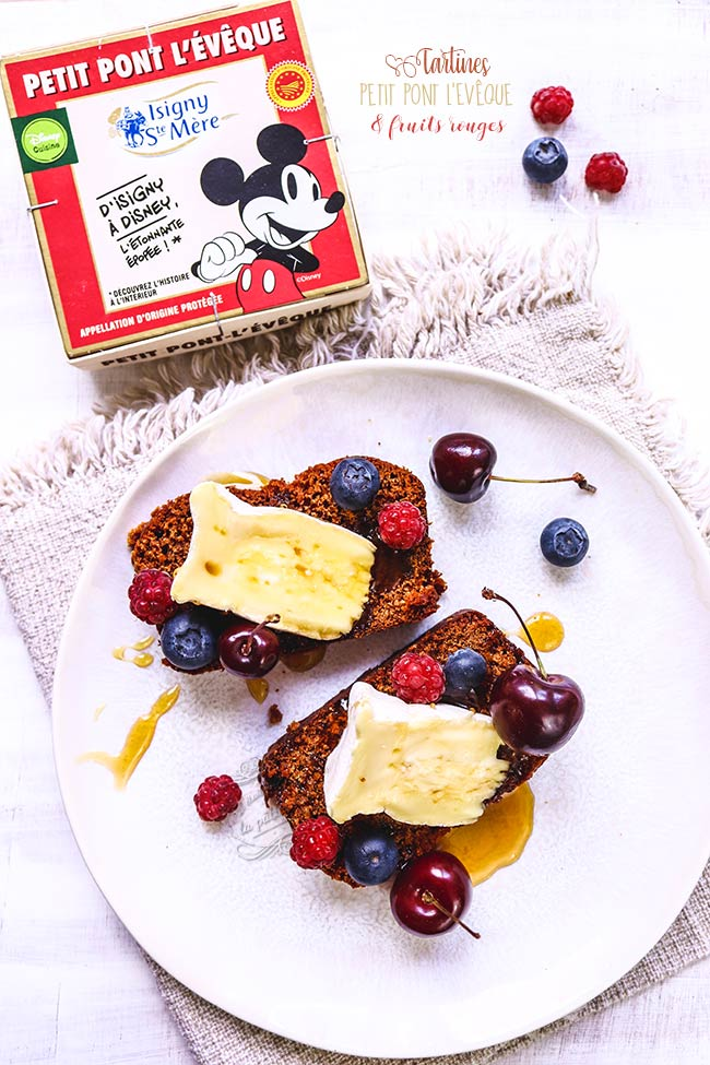 recette fromage et pain d'épices