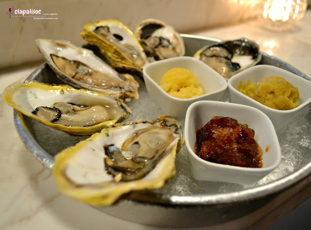 Oysters from Hook by Todd English