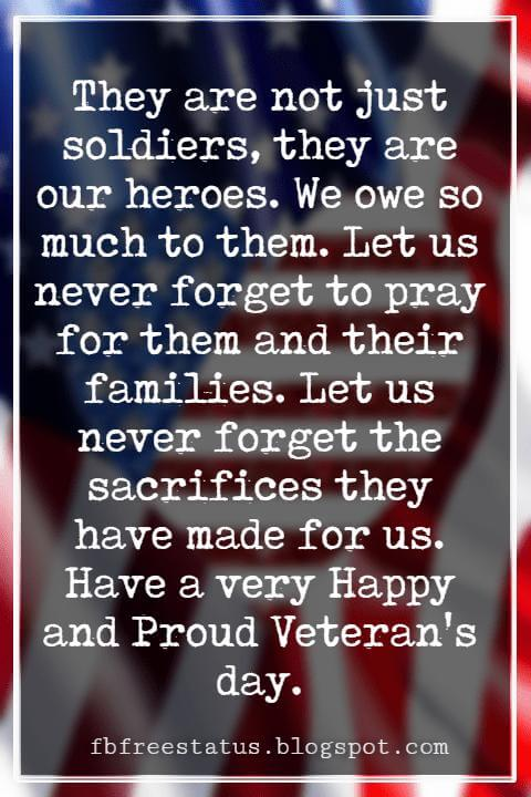 Happy Veterans Day Quotes & Happy Veterans Day Messages,