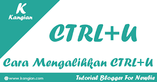 Cara Redirect CTRL+U Dengan  Javascript