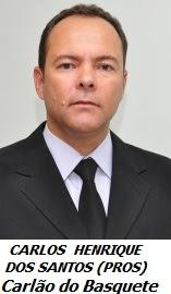 Vereador Carlos Henrique dos Santos do PROS - Carlão do Basquete - Crônica Dominical 03-07-2016 – VEREADOR CARLÃO DO BASQUETE AGRIDE VERBALMENTE A PROFESSORA IVONE NOGUEIRA DA APPP