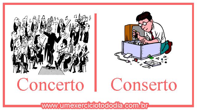 concerto e conserto