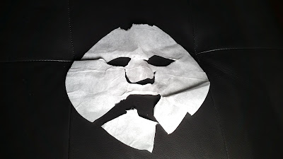sheet mask after use