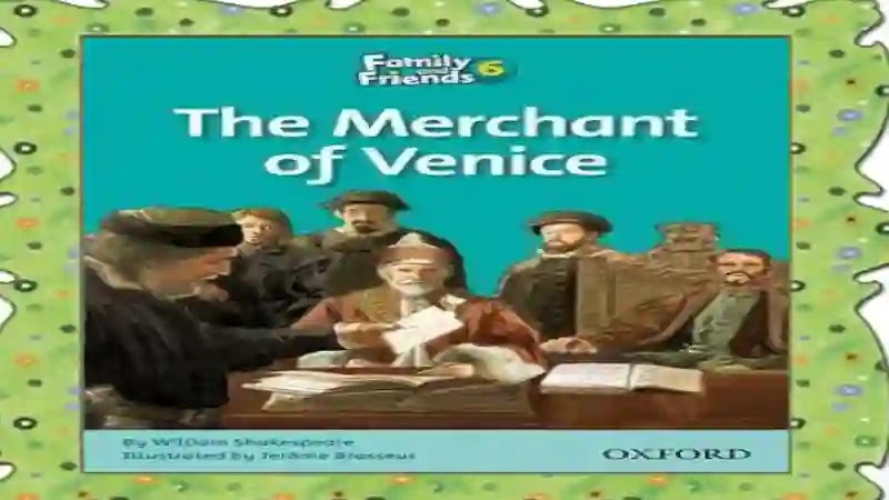 شيتات اسئلة واجابات نموذجية علي قصة The merchant of Venice او تاجر البندقية المقررة على المدارس التجريبية واللغات