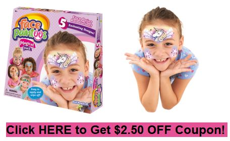 Face Paintoos coupon