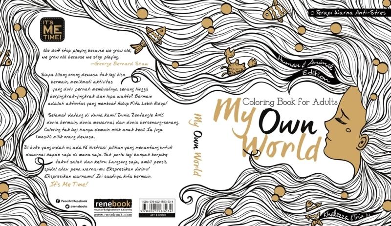 Beredar Pertengahan Tahun Ini Mengikuti Tren Yang Sedang Mendunia Maka Buku Menggabungkan Beberapa Jenis Diatas Ada Doodle Dan Gambar Seperti