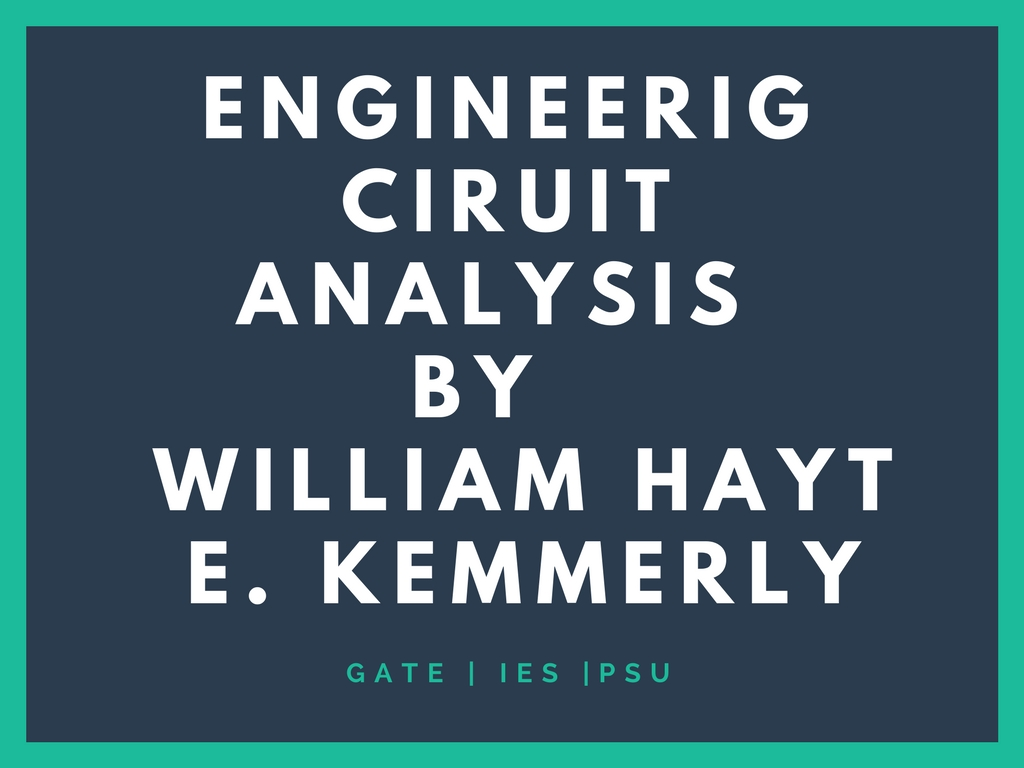 Engineering Circuit Analysis Hayt & Kemmerly 8th Edition Pdf