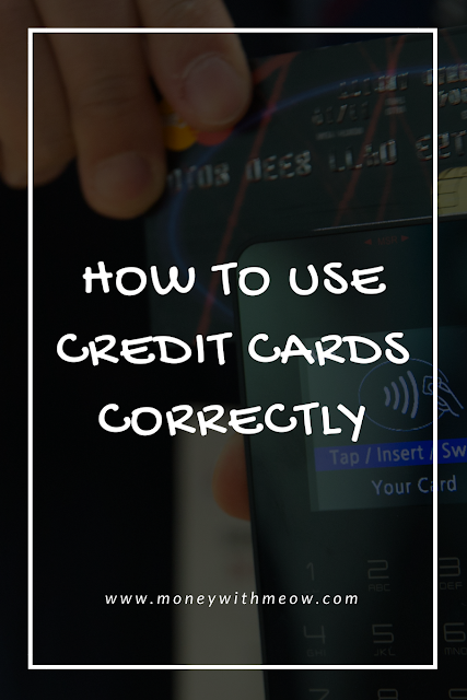 how to use credit cards correctly