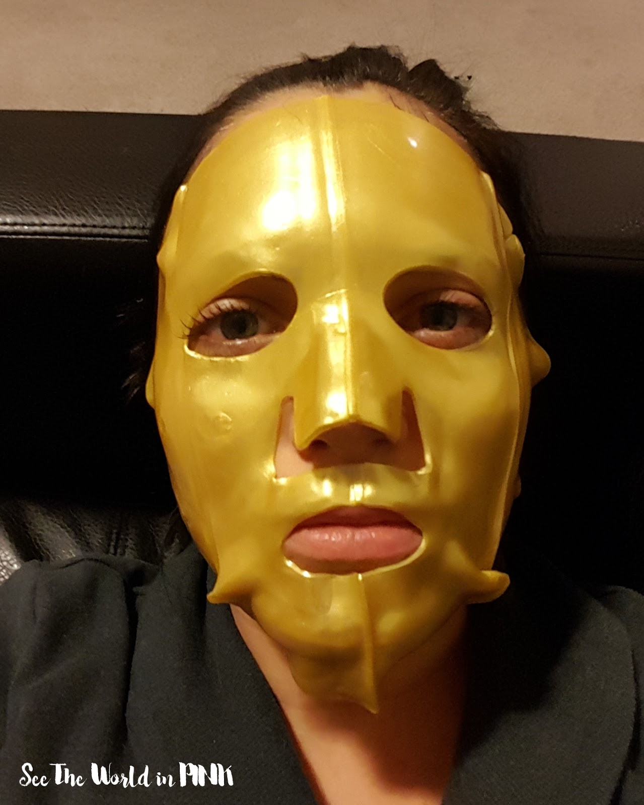 Passport To Beauty Gold Radiance Luxury Facial Mask