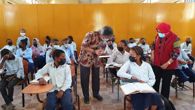 Lidya Alemayu, Pelajar Ethiopia Usia 9 Tahun:  Bicara  Bahasa Indonesia, Ingin Belajar di Indonesia