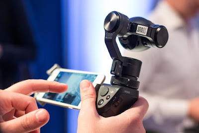 Smartphone Aksesoris, Stabilizer Smartphone, Handheld Camera