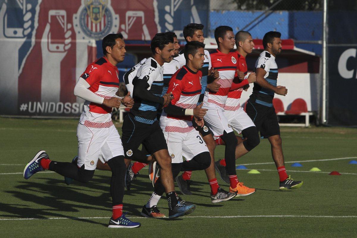 Chivas entreno hoy en Verde Valle.