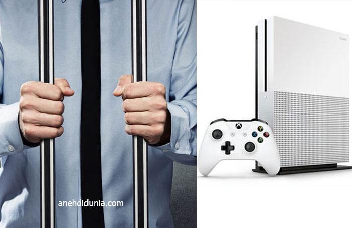Penjara karena xbox