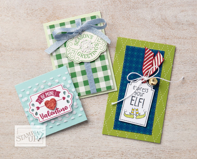 Nigezza Creates with Stampin' Up! Tags Tags Tags Product spotlight
