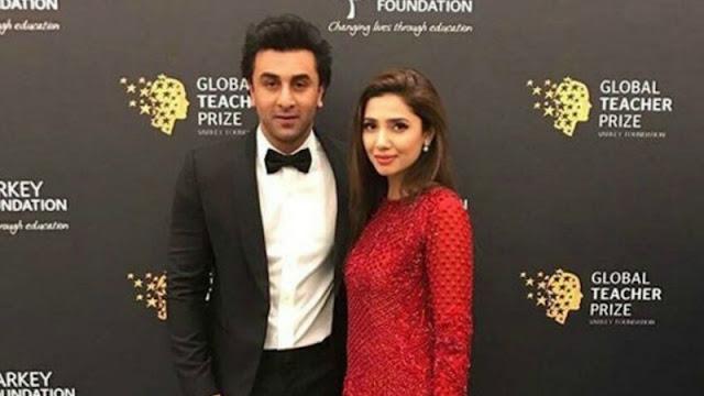 Ranbir Kapoor falls in love with Mahira Khan