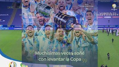 28 Tahun Dalam Penantian! Argentina Juara Copa America 2021