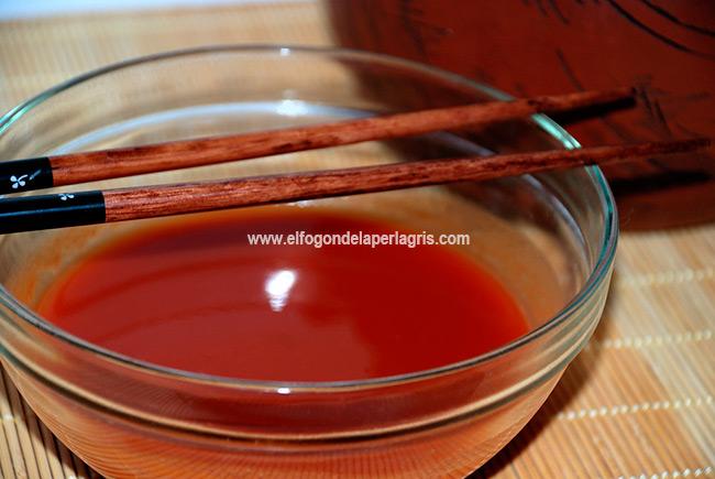 Receta de salsa agridulce