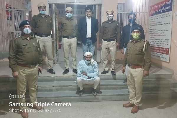 faridabad-news-saran-thana-police-arrested-rape-accused-sakir-khan