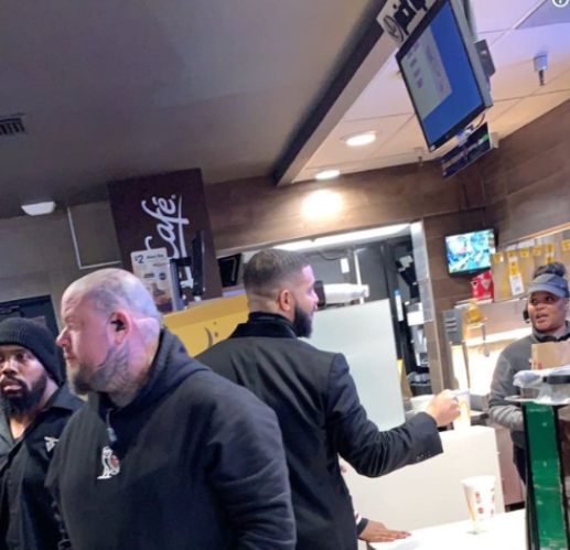 Drake Gave McDonald's Employees $100—Not $10K—Tip
