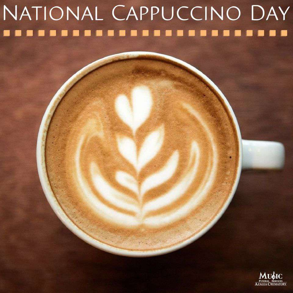 National Cappuccino Day Wishes Images download