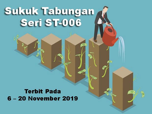 Sukuk Tabungan Seri St 006 Mulai 6 20 November 2019 Obligasi