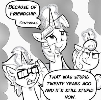 My Little Pony Comics Equestria Daily Header