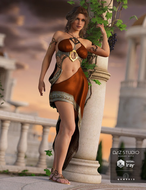 Divinity Outfit for Genesis 3 Female