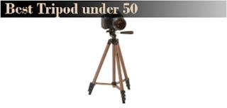 Best Tripod under 50
