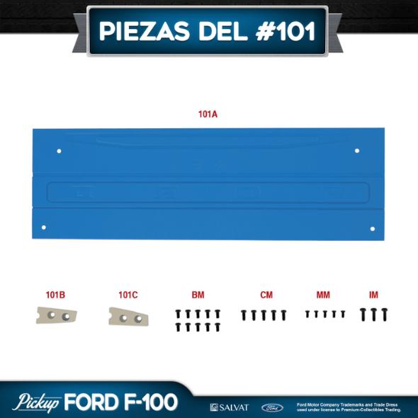 Entrega 101 Ford F-100