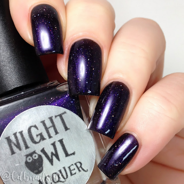 Night Owl Lacquer-Crazy AF