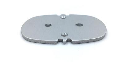 Custom Precision Aluminum Stamped Plates - 6061-T6 Aluminum Material