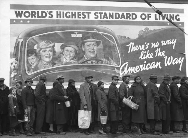 foto Kentucky saat banjir Great Ohio River tahun 1937