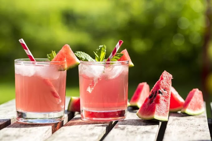 Watermelon Prosecco Margaritas