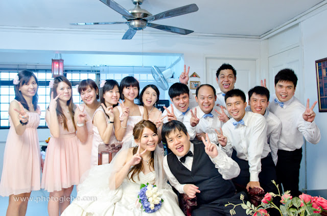 chubby hubby, smiling for wedding photo