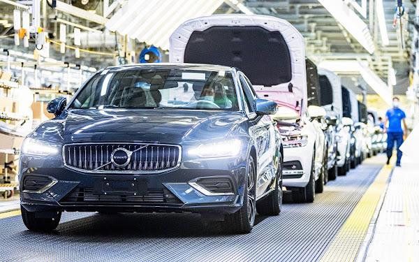 Fábrica da Volvo na China adota eletricidade 100% neutra para o meio-ambiente