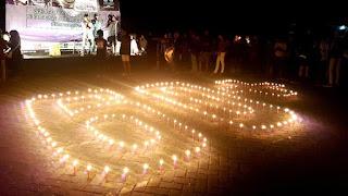 Masyarakat Serang Nyalakan 1.000 Lilin di Earth Hour 2017