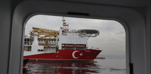 «Περικυκλωμένο» από το γαλλικό ναυτικό το Γιαβούζ
