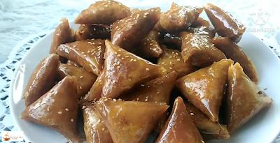 بريوات بالكاوكاو أو الفول السوداني من ألذ المعسلات  بطريقة سهلة ومبسطة