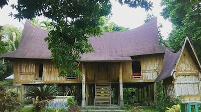 Profil Kabupaten Kampar Riau rumah lontiok