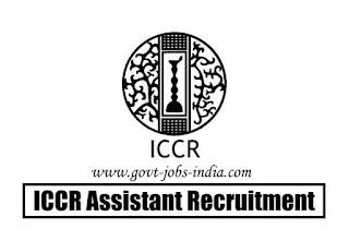 ICCR Assistant Recruitment 2020