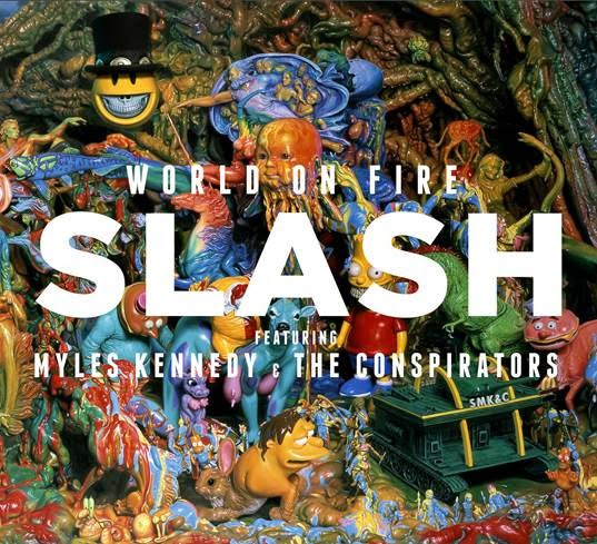 slash - world on fire - album