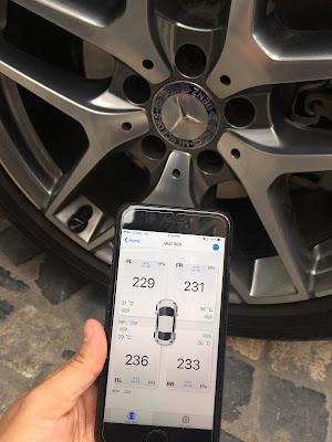 cảm biến áp suất lốp Fobo Tire | cảm biến áp suất lốp Mercedes
