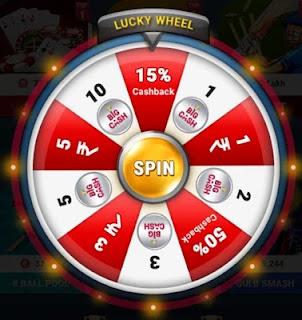 Big cash spin